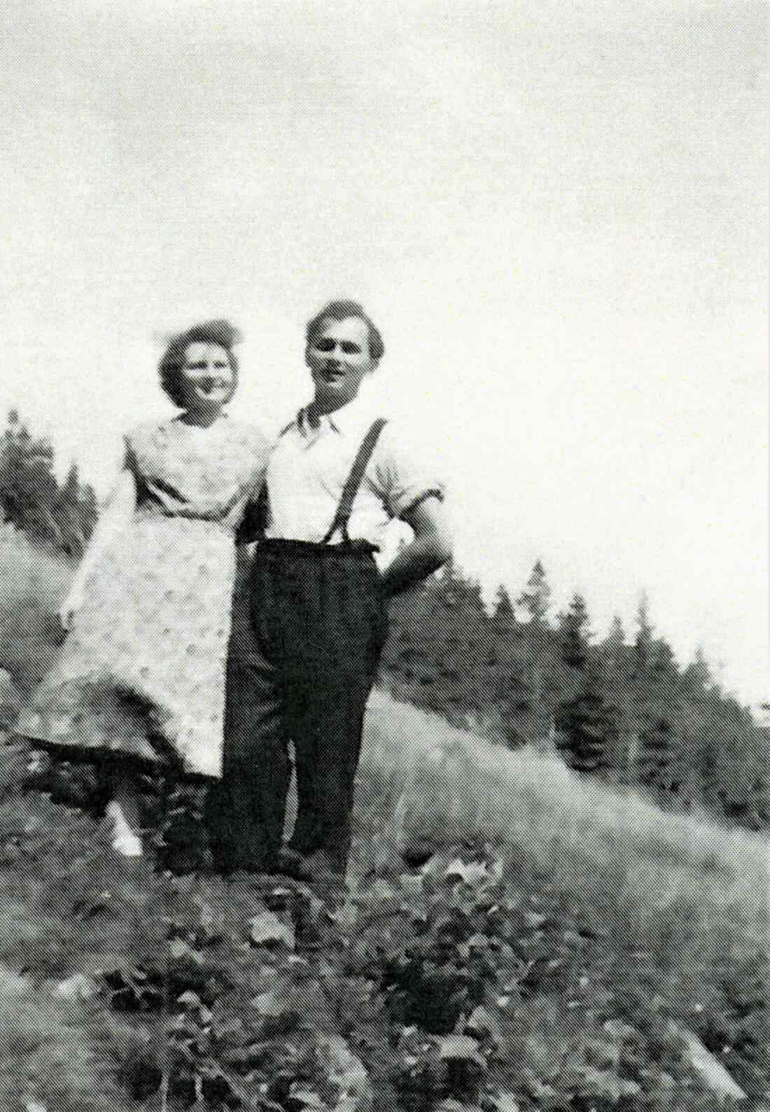 Das Ehepaar Hilde und Alexander Zambo - Gastwirt