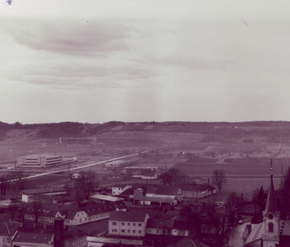 Blick vom Hochhaus in Richtung SSW